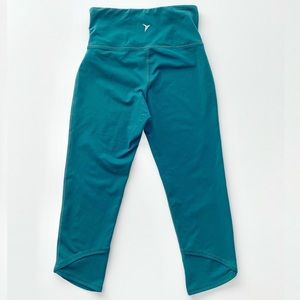 Old Navy Activewear Go Dry Leggings Teal Medium